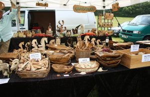 West's Wood Fair - Stalls