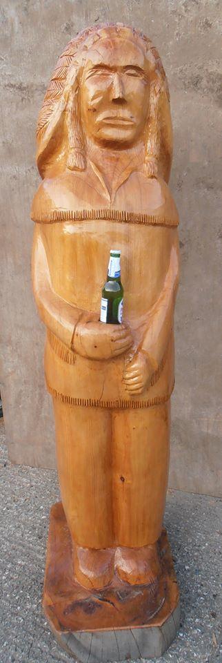 West's Wood Fair - Wooden Man